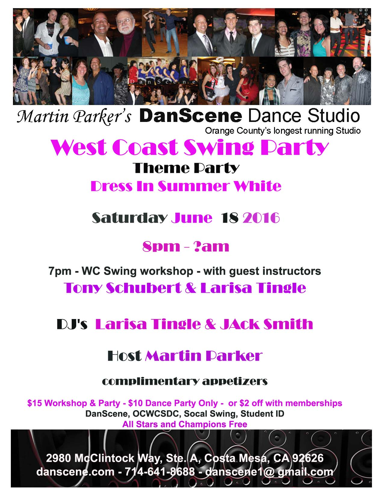 DanScene June WCS Party Flyer 2016 copy